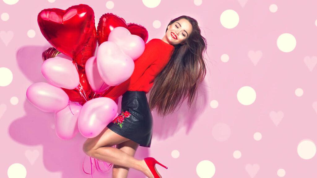 zvodný valentínsky outfit