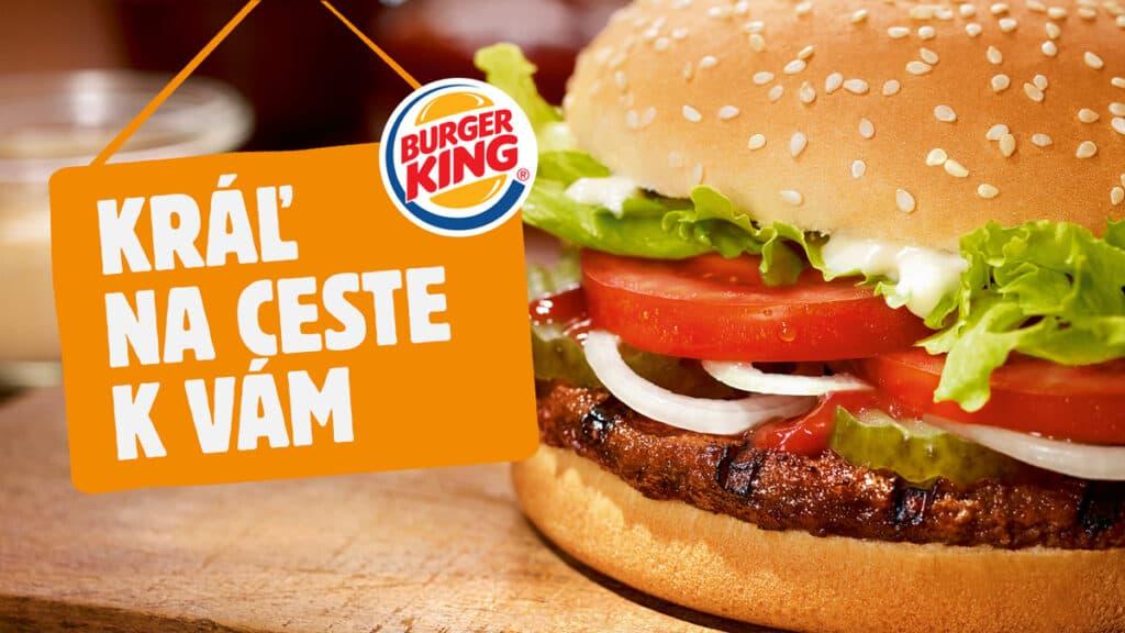 Burger King spúšťa donáškovú službu