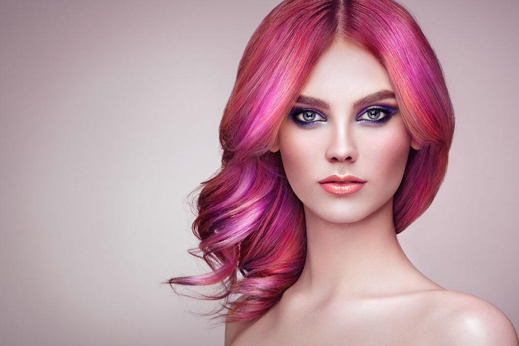 nová farba vlasov