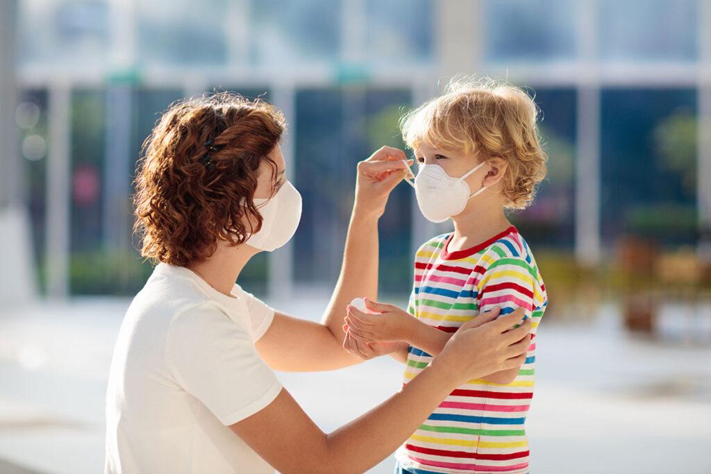 príznaky koronavírusu u detí