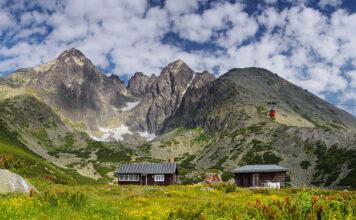 Lomnické sedlo, dovolenky na horách