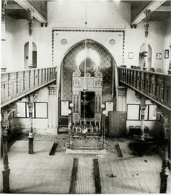 krásy židovských synagóg